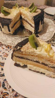 Liszt- és cukormentes kókuszos-vaníliás torta (IR barát)