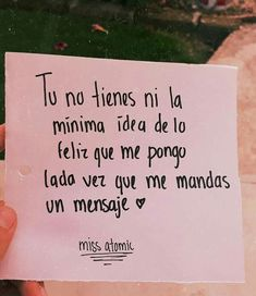 Sus mensajes A? frases - Rebel Without Applause Love Phrases, Love Words, Crush Quotes, Me Quotes, Sad Love, Love You, Ex Amor, Frases Love, Quotes En Espanol