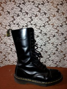 Doc Marten Boots classic vintage 90s by LittleShopOfHeaven on Etsy, $40.00