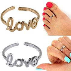 1c8b06fa5 Fashion Silver Toe Ring Foot Beach Jewelry Metal Adjustable Open Jewelry  Condition  100% brand