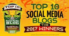 Top 10 Social Media Blogs: The 2017 Winners! http://www.socialmediaexaminer.com/top-10-social-media-blogs-2017-winners/?utm_source=SMEPage&utm_medium=SumoMe&utm_campaign=twitter