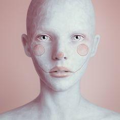 oleg dou digital art - creepy weird images - chicquero 1