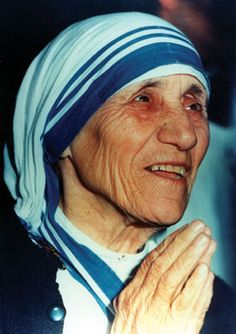 """By blood, I am Albanian. By citizenship, an Indian. By faith, I am a Catholic nun."""