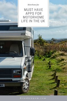 Hitting the road for an extended road trip but not sure what apps will be useful? Check out this list of our favourite apps for touring the UK. Best Motorhomes, Rv Apps, Life In The Uk, Bus House, Van Living, Campervan, Van Life, Motorhome Fun, Touring
