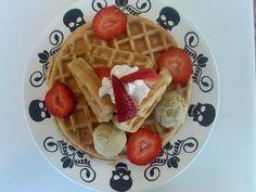 4:20 Waffle w 4:20 Honey Butter