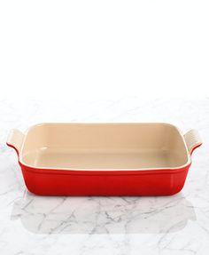 "Le Creuset Heritage Stoneware 12\"" x 9\"" Rectangular Baking Dish"