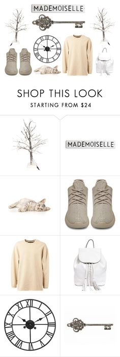 """""""Pale Snowy Winter"""" by tamara-kotoyan on Polyvore featuring adidas Originals, Rebecca Minkoff, women's clothing, women's fashion, women, female, woman, misses and juniors"""