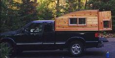 DIY - Compact, Highly Space Efficient Cedar Truck Camper