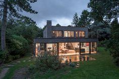 schuifpui | Villa jaren 70 woning renovatie | JADE architecten
