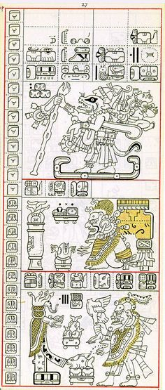 Secrets to werecat magic may be contained in an ancient Olmec text, similar to the Mayan codex pictured above.