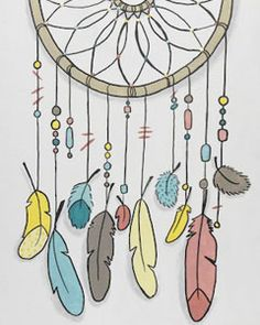 The eye-catching and interesting composition of our Dream Catcher piece features the very popular Native American art form being seen everywhere today. Switch out the colors for a custom match or go with our trendy palette. Either way, the results will impress! #dreamcatcher #socialartworking #boho