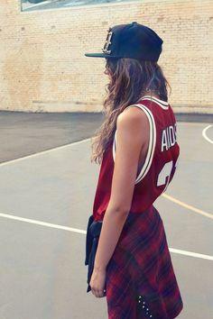 Oyster Fashion: Amelia Zadro & Dut Yaak Shot by Jason Henley  Paislee hat from Culture Kings, Generics Accessories chain, adidas Originals by Jeremy Scott dress, Missguidedshirt (around waist)