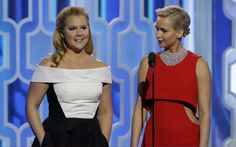 Maybe it's just the photo... but feeling like Amy Schumer (L) and Jennifer Lawrence could be sisters, or at least cousins