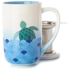Learn more about Sea Turtle Colour Changing Mug. Get all the information you need about Sea Turtle Colour Changing Mug at DAVIDsTea Best Loose Leaf Tea, Davids Tea, Premium Tea, Oolong Tea, Tea Infuser, Tea Accessories, Tea Mugs, Mug Cup, Turtle