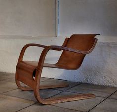 Old model no. 31 chair by Alvar Aalto