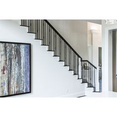 Shop House Of Forgings Solid 44 In Satin Black Wrought Iron Versatile Stair  Baluster At Lowes.com | Stairs U0026 Rails | Pinterest | Wrought Iron, ...