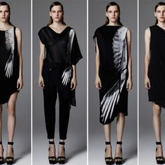Helmut Lang I love this falcon wing print