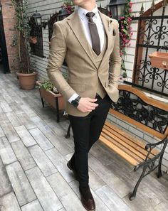 Easy To Grow Houseplants Clean the Air Terziademaltun - Italyan Stil Slim Fit Ceket Yelek Pantolon Yesil Takim Elbise 1 Mens Casual Suits, Formal Suits, Mens Suits, Mens Fashion Blazer, Suit Fashion, Business Outfit, Business Fashion, Traje Casual, Designer Suits For Men