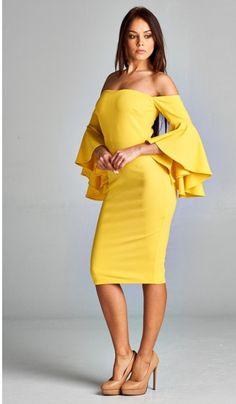 906f8ae1b9 Lauren Jade Boutique... Affordable Modern Chic Women s Apparel. Ruffle  Sleeve DressClassy ...