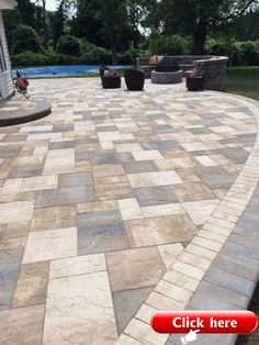Patio Decor Building A Patio With Pavers With Stone Patio Design Ideas Paving Stone Patio Design Ideas Paver Also Flagstone Paver Patio Flagstone Patio Designs And Small Backyard Patio Stones Besides The Patio Stones Designs Garden. Stone Patio Designs, Paver Designs, Backyard Patio Designs, Diy Patio, Backyard Landscaping, Patio Ideas, Backyard Ideas, Pergola Ideas, Patio Border Ideas