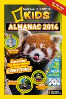 Nat Geo Kids Almanac 2014 Review and Giveaway {2 Winners} | Ends 6.21.13