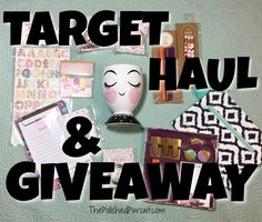 Happy weekend loves! I have a special treat for you guys today!!! I'm doing a Target HAUL + GIVEAWAY!!! I LOVE LOVE LOVE Target, I mean what girl doesn't? I especially love their dollar section (Bullseye Playground) because they have… Continue Reading →