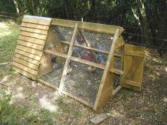 Stall: Tragbares Hühnerhaus