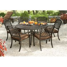 Living Home Outdoors Jardin 8-Piece Dining Set (BJ Wholesale)