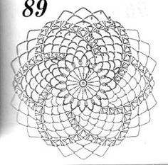 Irish Crochet Patterns, Crochet Diagram, Crochet Chart, Crochet Granny, Filet Crochet, Crochet Doilies, Crochet Dreamcatcher Pattern, Crochet Circles, Crochet Fashion