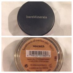Bare minerals all over face color in warmth