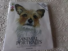 Cross stitch complete kit  picture of a dog from Heritage Crafts Animal Portraits series by MaddisonsRainbow on Etsy