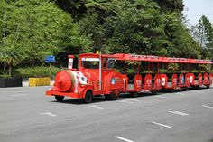 Red Mini Train - http://malaysiamegatravel.com/red-mini-train/