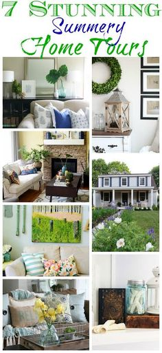 7 Summery Home Tours - Life On Virginia Street