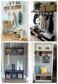 Small Mudroom And Entryway Decor Ideas | ComfyDwelling.com