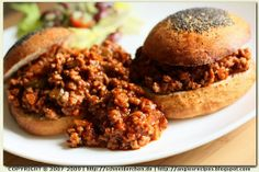 Angie's Recipes . Taste Of Home: Sloppy Joe