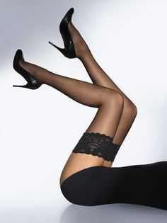 Stay Up Sheer Stockings