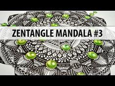 Mandala Monday - Zentangle Mandalas by Esperoart - Zentangle Mandalas by Esperoart - http://go.shr.lc/2cQPGKX