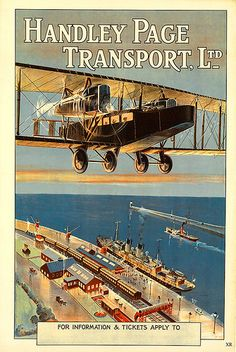 Vintage Aircrafts handley page transport ltd - Awesome vintage airline posters and classic airline travel advertisements that will make you wish you could go back in time and visit the golden age of air travel. Retro Airline, Airline Travel, Air Travel, Vintage Advertisements, Vintage Ads, Vintage Trends, Illustration Avion, Poster Ads, Tourism Poster