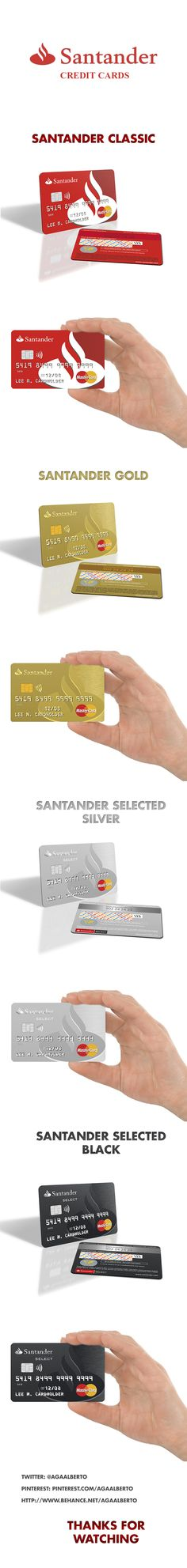 Credit card creditcardz pinterest santander credits cards credit cardsusb reheart Choice Image