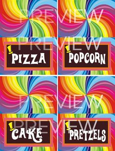 Items similar to Food tags for a Wonka inspired party in digital pdf OR jpeg files for diy on Etsy Page Setup, Food Tags, Willy Wonka, Paper Goods, Sweet Sixteen, Inspired, 5th Birthday, Digital, Party