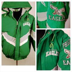 b50e348af50 Philadelphia Eagles vintage starter jacket