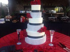 Wedding cake by Diann Laney
