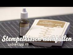 Stampin' Up! - Stempelkissen nachfüllen - QuickTipp #8