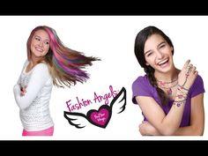 Hair Chox y Bling Bling 🌈 Mechas de Colores y Tatuajes de Purpurina ✨ Ju...