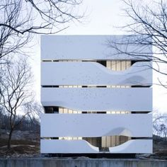 Blockhouse by  AZL Architects