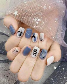 Cute Gel Nails, Soft Nails, Nail Noel, Korean Nail Art, Vintage Nails, Acylic Nails, Nails Design With Rhinestones, Cute Nail Art Designs, Kawaii Nails