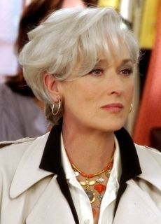 Short Hairstyles for Women over 50 » Gray hair meryl streep short ...