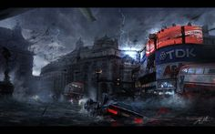 Post-Apocalyptic Wallpaper | Post Apocalyptic Gothic Wallpapers ...