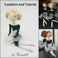 Doll Pattern & Tutorial Little Ballerina PDF by FancyDolls on Etsy, $15.00