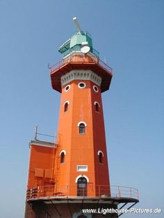 Hoher Weg Lighthouse, Germany- by www.Lighthouse-Pictures.de